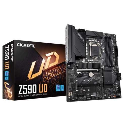 Gigabyte Z590 UD Intel 10th and 11th Gen ATX Motherboard