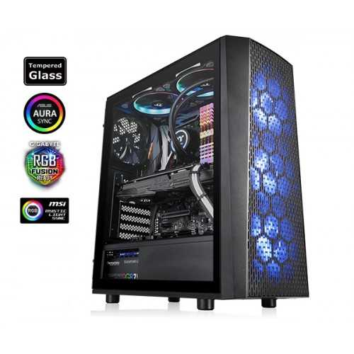 THERMALTAKE VERSA J24 TEMPERED GLASS RGB EDITION MID-TOWER CASE